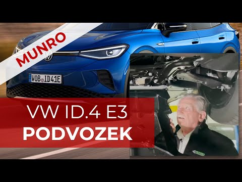 Sandy Munro VW ID.4 E3: Podvozek