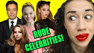 EXPOSING RUDE CELEBRITIES IVE MET!