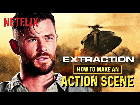Extraction The Making Of An Action Scene Chris Hemsworth Netflix India Youtube