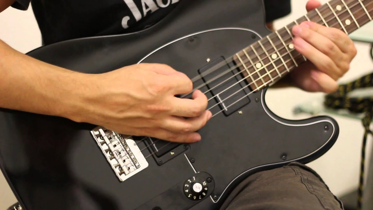 Frantic Metallica Guitar Cover Seymour Duncan Blackouts Ahb