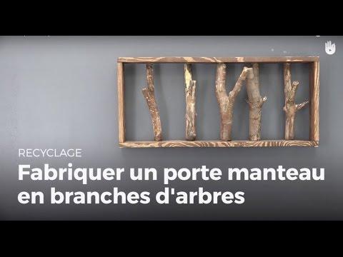 Comment Fixer Un Porte Manteau Sur Une Porte En Bois.5 Porte Manteaux Decoratifs A Fabriquer