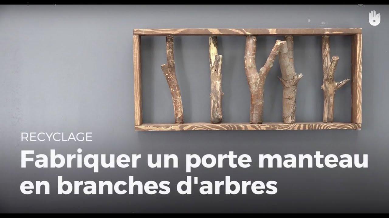 Apprendre à Fabriquer Un Porte-manteaux En Branches Du0027arbre | Recycler -  YouTube