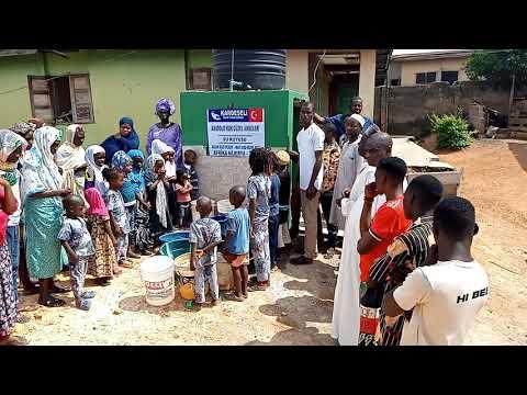 Anadolu'nun Güzel Anneleri Su Kuyumuz Afrika Nijerya'da Faaliyette!