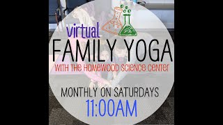 All About Birds: Citizen Science Family Yoga