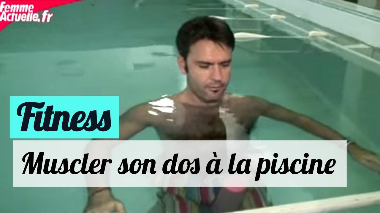 Favori Muscler son dos à la piscine - Fitness - YouTube LZ03