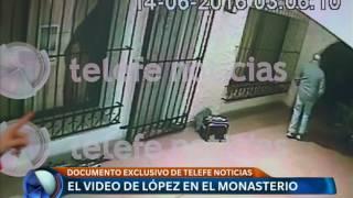 El video de José López en el convento - Telefe Noticias