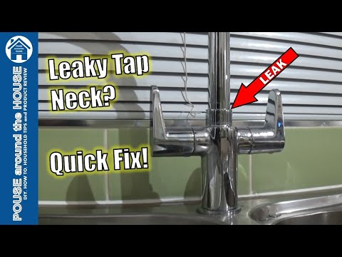 how-to-fix-a-leaking-kitchen-tap.-mixer-tap-leak-repair.-replace-o-ring-on-dripping-tap.