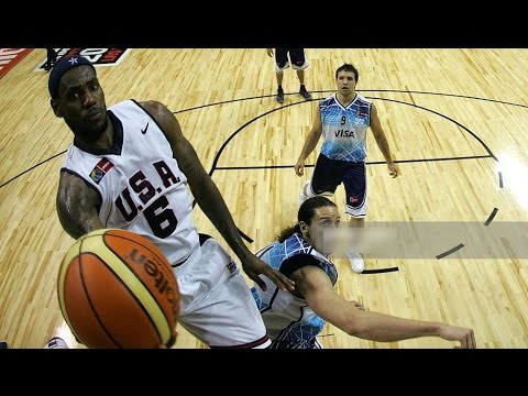 Argentina vs USA 2007 FIBA Americas Basketball Championship Gold Medal Final FULL GAME English