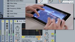 Using Ableton Live + Liine's Lemur iPad App - Production & Performance Tutorial