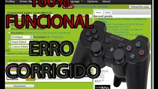 TUTORIAL...COMO CONECTAR O CONTROLE DE PS3 NO PC! E COMO CORRIGIR O ERRO DO MOTION JOY!!
