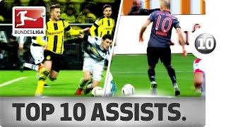Best Assists of 2016/17 So Far - Robben, Reus, Dembélé and More