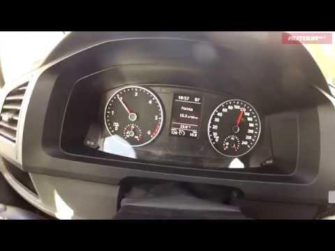 Volkswagen T6 Caravelle 2.0 TDI - реальный расход топлива