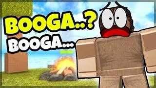OOGA BOOGA MÆND! - Dansk Roblox: Booga Booga #1