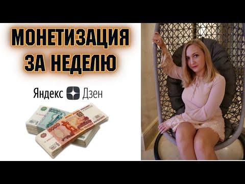 Как я вывел канал Яндекс Дзен на монетизацию за первую неделю