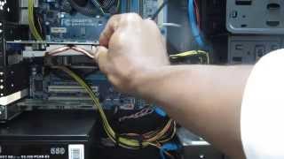 installing nvidia geforce gtx 650 ti video card pci e 3 0 2gb