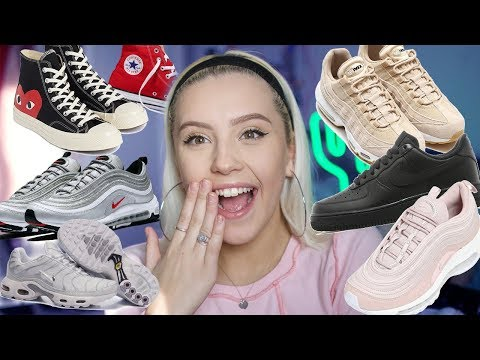 MY SHOE COLLECTION-STREETWEAR ( NIKE, ADIDAS, CONVERSE) | Oliviagrace Mp3