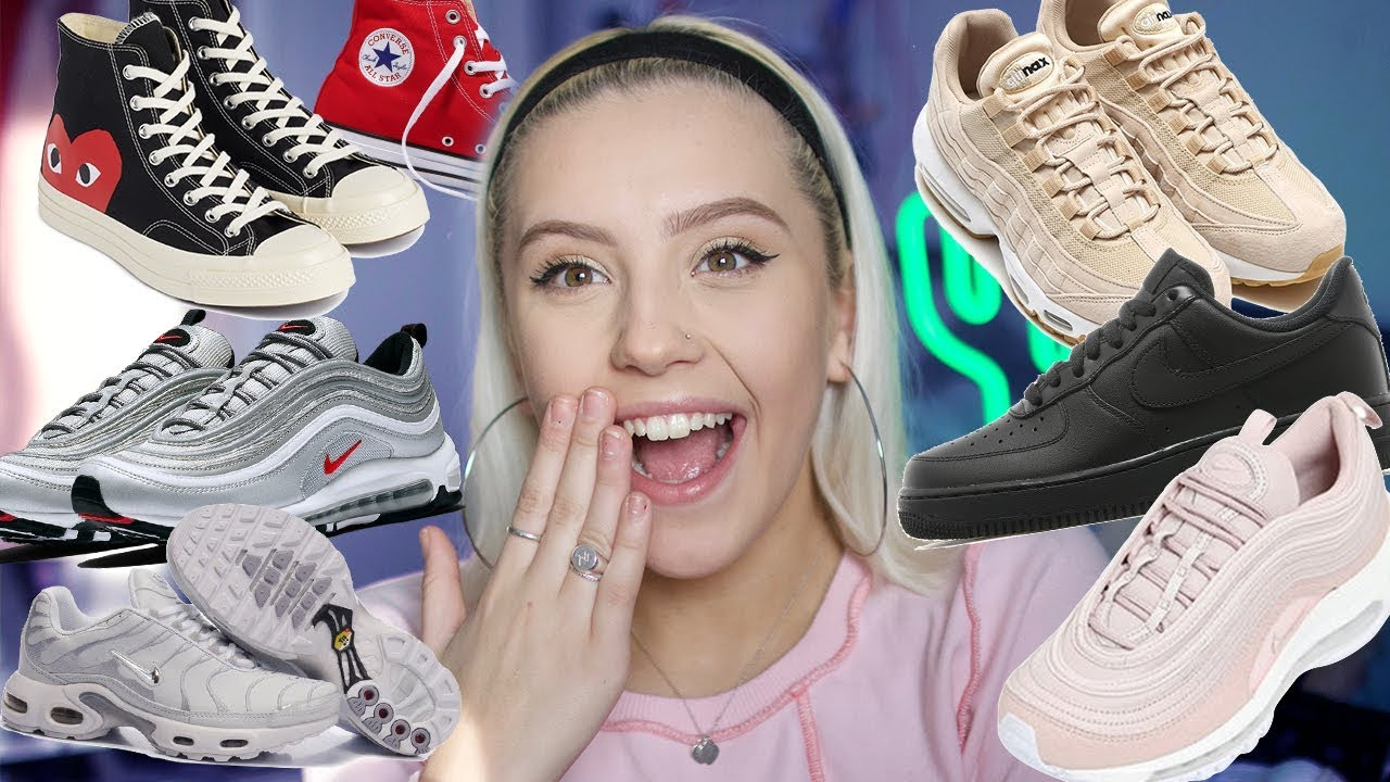 MY SHOE COLLECTION-STREETWEAR ( NIKE, ADIDAS, CONVERSE) | Oliviagrace