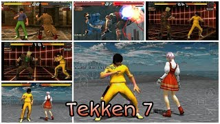 Marshall LawTekken 7 High Graphics Android PPSSPP smooth gameplay No lag
