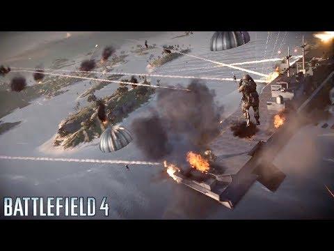 Battlefield 4 Naval Strike: AIR CRAFT CARRIER OF DEATH!! - PC Ultra BF4