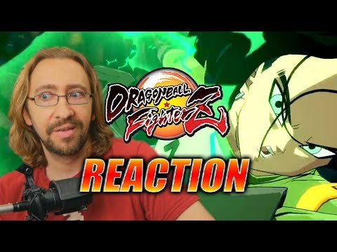 MAX REACTS: Android 17 Reveal & Trailer - DragonBall FighterZ