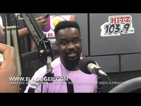 Sarkodie Reveals How He Met His Wife And His Top 3 Ghanaian Gospel Musicians