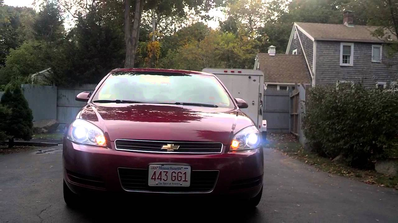 Impala Hid And Led Tail Lights Youtube