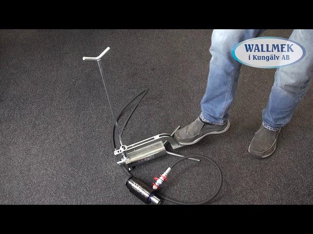 Wallmek W1030 hydraulische voetpomp