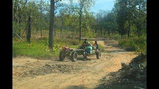 ลุยลาว EP30:ลุยป่า ลุยโคก ไปเมืองตุ้มลาน แขวงสาละวัน นี่หรือถนน?