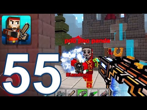 Pixel Gun 3D - Gameplay Walkthrough Part 55 - Electromagnetic Cannon (iOS, Android)