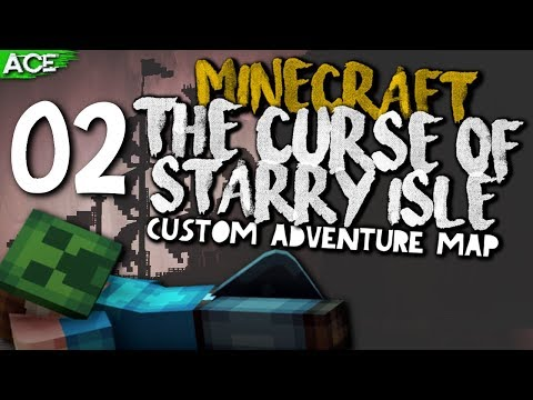 MINECRAFT MAP   The Curse of Starry Isle [2] The Blue and Purple Crystals