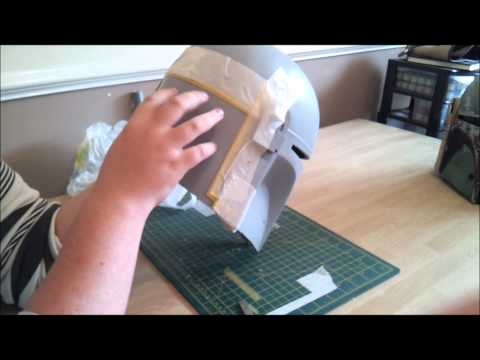 Boba Fett Helmet: Episode 11, Masking and Silver