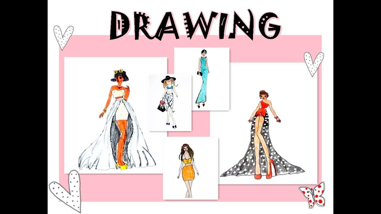 Fashion Illustration Youtube