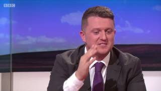 Tommy Robinson Defending His Name on Daily Politics