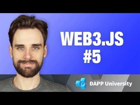 Writing Smart Contracts · Web3.js · #5 Ethereum Blockchain Development Crash Course