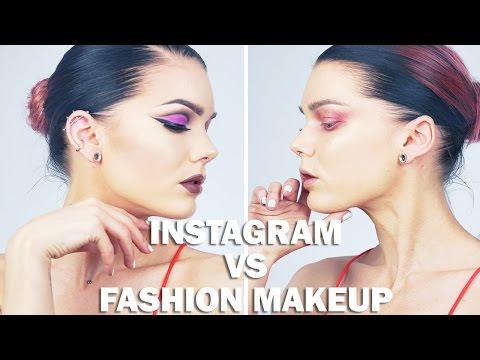 Instagram VS Fashion Makeup   Linda Hallberg Tutorial