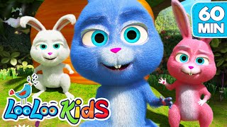 Video Sleeping Bunnies - Lovely Songs for Children | LooLoo Kids download MP3, 3GP, MP4, WEBM, AVI, FLV Agustus 2018