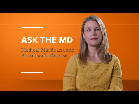 Ask the MD: Medical Marijuana and Parkinson's Disease