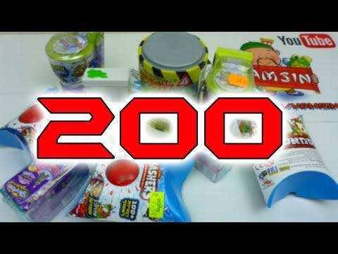 פותחים מלא מוצרים בסרטון חגיגי 200 | שקיות הפתעה עם דמויות