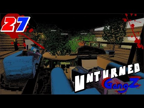 Unturned GangZ in RUSSIA (Multiplayer) E27 - ESCAPE TO MOSCOW!!!