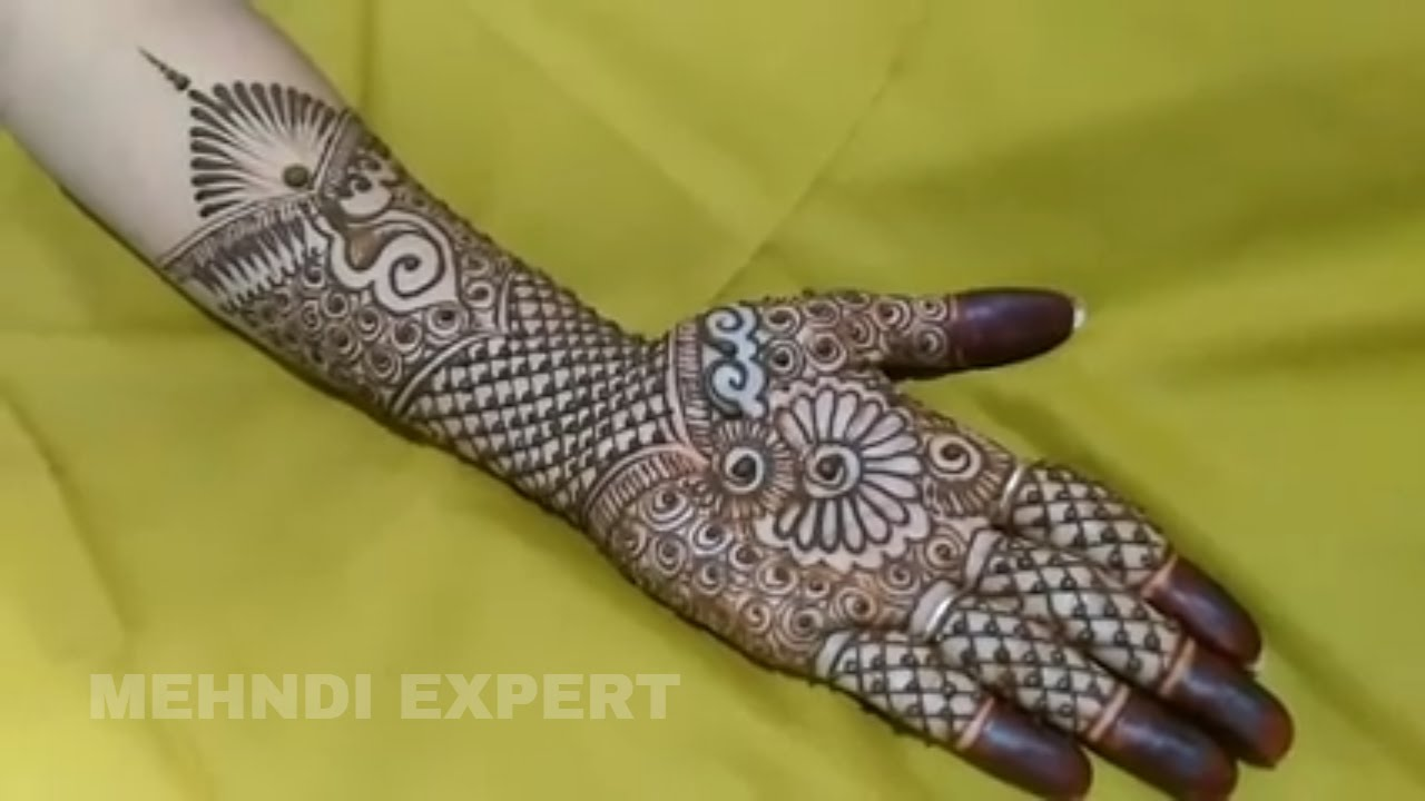 Mehndi design 2017 new style - Fusion Of Traditional Henna Art And Modern Style Mehndi Design 2017 Step By Step Tutorial