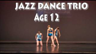 Jazz Dance Competition - Sloane - Trio to Happy Ending by Mika