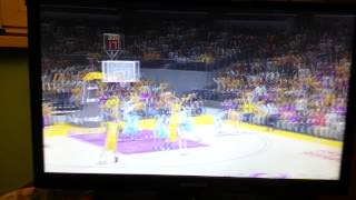 NBA 2K 13 Schiacciata  di Howard su rimbalzo