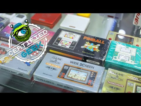 Largest Collection of Vintage Video Games | Certified Geek Ep. 3
