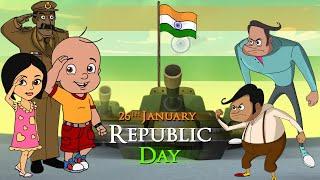 Mighty Raju - Maa Tujhe Salaam! | Republic Day Special | Hindi Cartoon for Kids