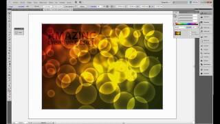Tutorial Adobe Illustrator // Efecto Bokeh
