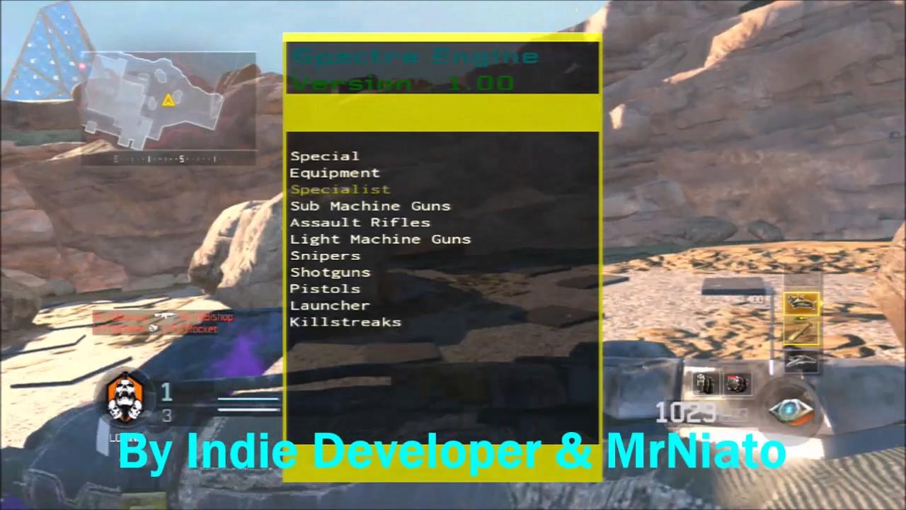 BO3 / PS3 SkyFall & Spectre Engine SPRX Mod Menus by MrNiato