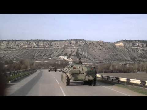 Российские войска в Крыму 10 марта 2014 г. часть 2