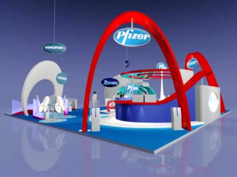 Driscoll Brothers Group Pfizer Exhibition Booth Design