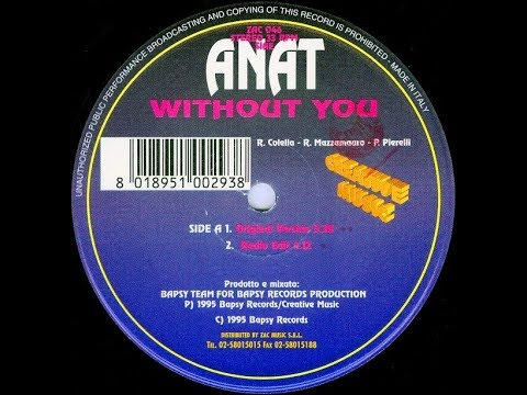 Dance 90's: Anat - Without You (Original Version) (1955)