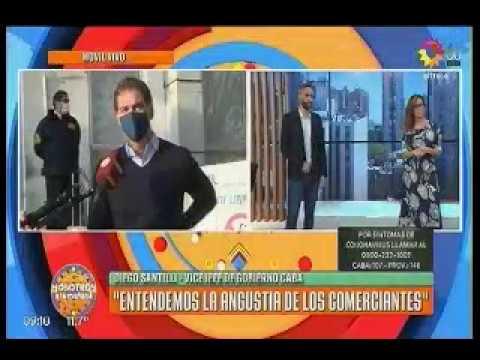 Canal 13  Entrevista a Santilli quien meciona reunión de trabajo con FECOBA